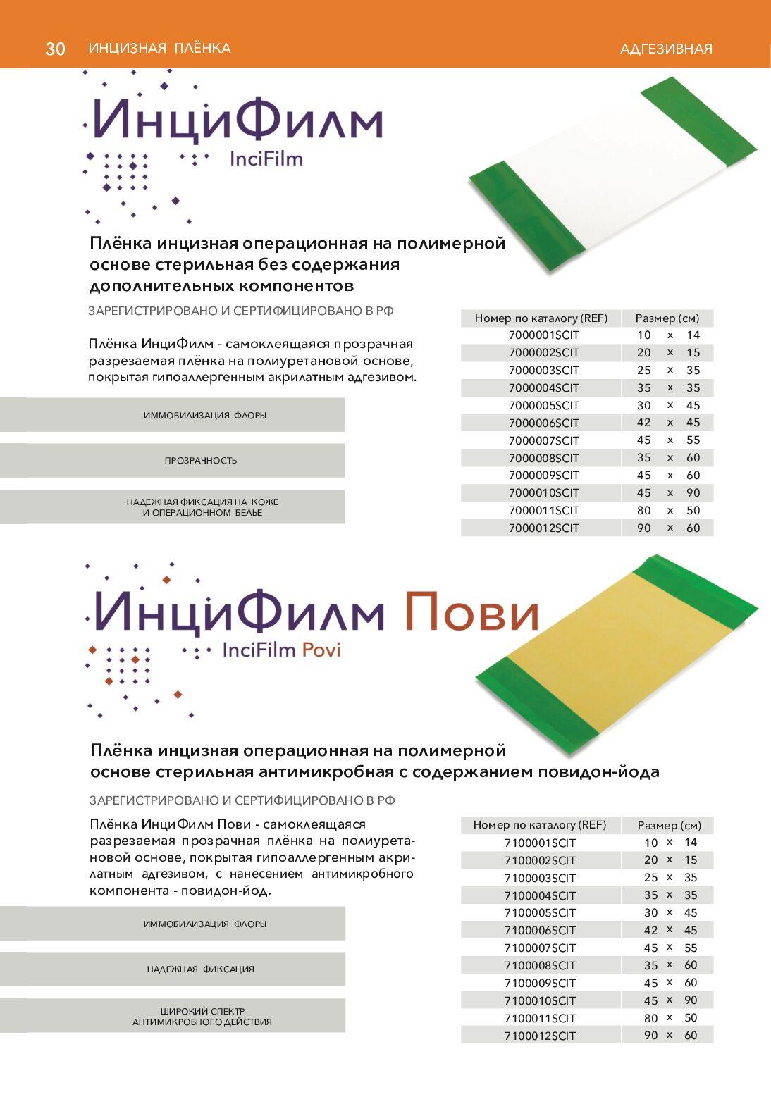 продукции Optimelle 30 pdf